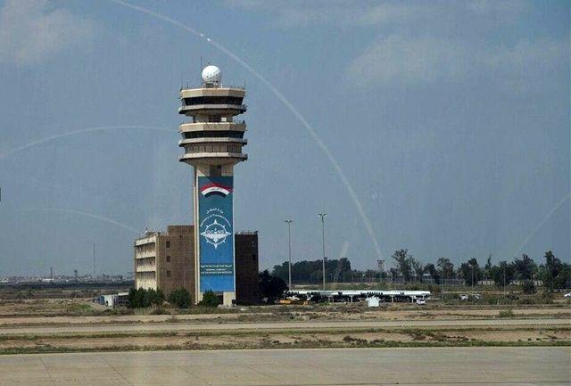 حمله راکتی به فرودگاه بغداد+جزییات