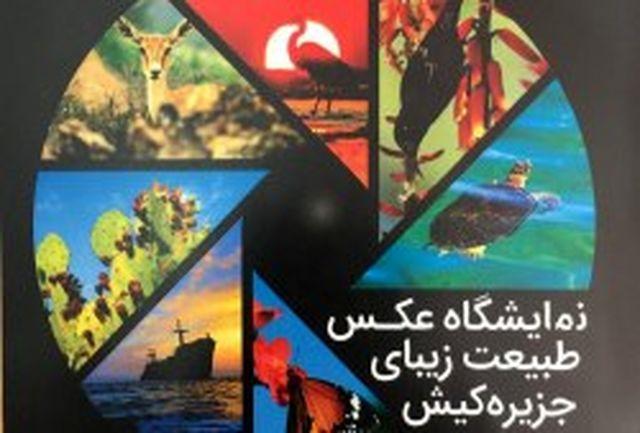 آغاز بکار نمایشگاه عکس طبیعت زیبای کیش همزمان با دهه مبارک فجر
