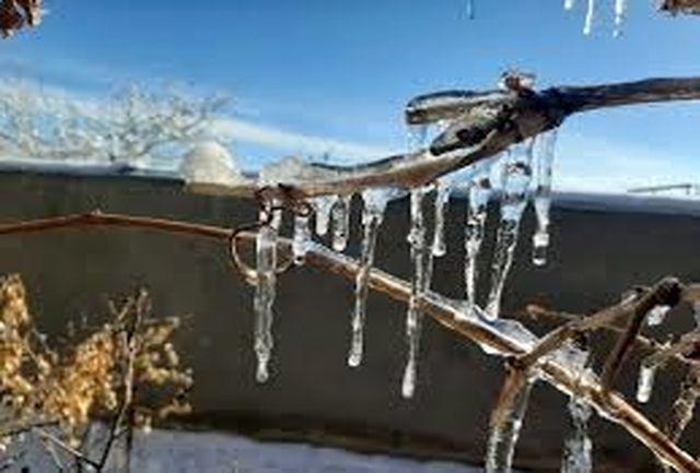 هشدار مدیریت بحران در پی وقوع سرما و یخبندان شدید