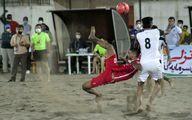 رقابت های لیگ برتر فوتبال ساحلی کشور _منطقه آزاد انزلی