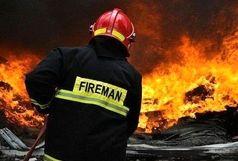 آتش سوزی در سپهسالار تهران/آمار مجروحین اعلام شد