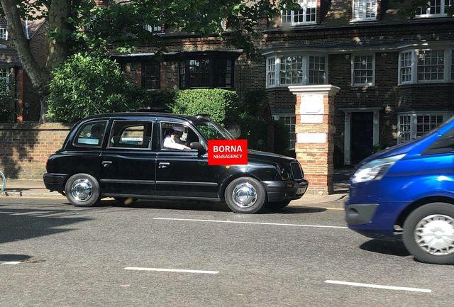گشت زنی فردی شبیه بن لادن در لندن/ عکس