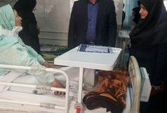 عیادت و تصمیم به انتقال مجروحین دیهوک به گچساران