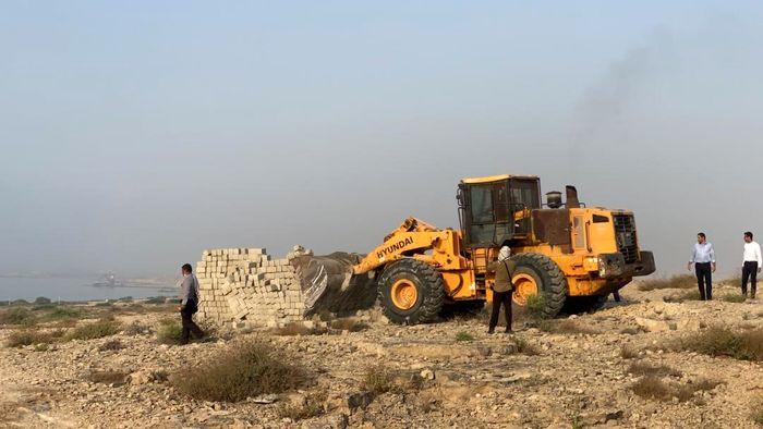 رفع تصرف 350 هزارمترمربع از اراضی ملی روستای تورگان