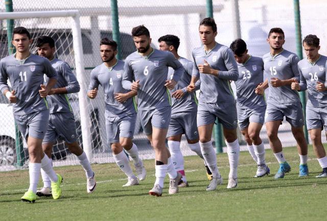 آخرین تمرین امیدها در اردوى بهمنماه