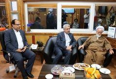 دیدار وزیر نیرو با نماینده ولی فقیه در استان هرمزگان
