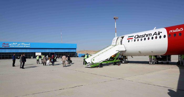 پرواز اهواز در فرودگاه بین المللی پیام به زمین نشست
