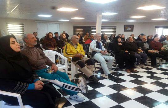 طرح فرهنگی ورزشی دوشنبه های سالمندی در پردیس