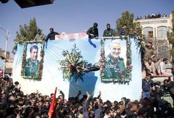 تشییع پیکر سردار شهید حاج قاسم سلیمانی در کرمان -۴
