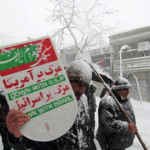 راهپیمایی ۲۲ بهمن در لاهیجان برگزار شد