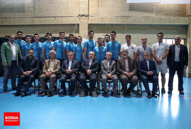 بازدید وزیر ورزش و جوانان از اردوی تیمهای ملی کاراته و تکواندو/ ببینید