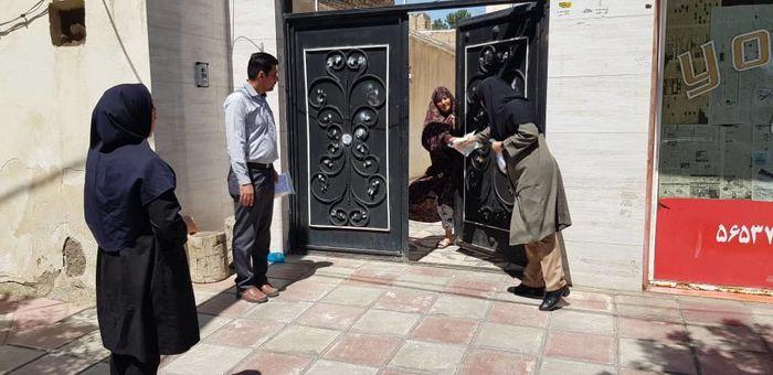 ۲۵۰ بسته بهداشتی در روستای قیصرآباد توزیع شد