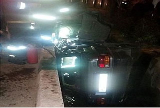 واژگونی خودروی حامل امام جمعه شهر جلفا