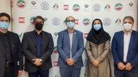 دیدار صدیقی با مدیرکل تربیت بدنی دانشگاه پیام نور
