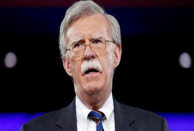بولتون خواهان ارائه طرح نظامی برای اقدام احتمالی علیه ایران شده بود