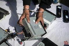 دستگیری سارق حرفه ای قطعات خودرو با 9 فقره سرقت