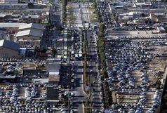ترافیک پرحجم در محورهای منتهی به مرزها