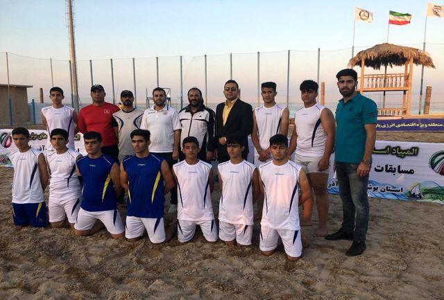 دعوت ۵ بازیکن الشتری به اردوی تیم ملی نوجوانان هندبال ساحلی