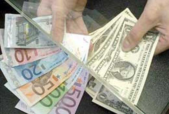 نرخ ارز مبادله ای در روز دوشنبه