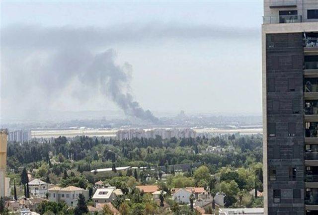 """آتشسوزی مهیب در نزدیکی شهرک """"کیدا"""""""