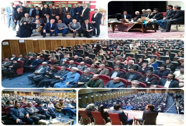 برگزاری مراسم نکوداشت استاد آذر مازندرانی باحضور میهمانانی از استانهای تهران، البرز، آذربایجان شرقی و غربی و اردبیل