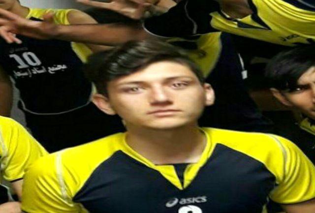 والیبالیست رومشکانی به تیمعقاب تهران پیوست