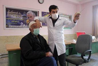 خدمات رایگان چشمپزشکی گروه جهادی شهید رهنمون در سنندج