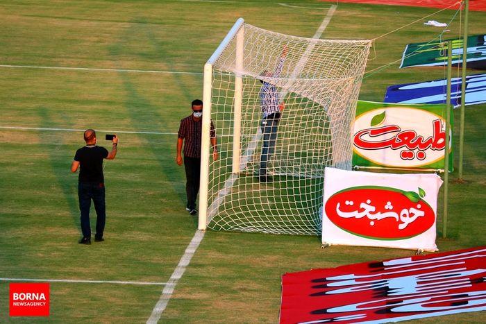 عکس های دیده نشده از اتفاقات پیش از دیدار تیم های فوتبال صنعت نفت و استقلال+ببینید