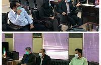 دیدار مدیرکل اموال و املاک بنیاد مستضعفان استان با فرماندار چرداول