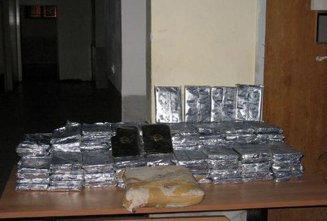 کشف 177 کیلو حشیش در غرب و جنوب کرمان طی یک عملیات پلیسی