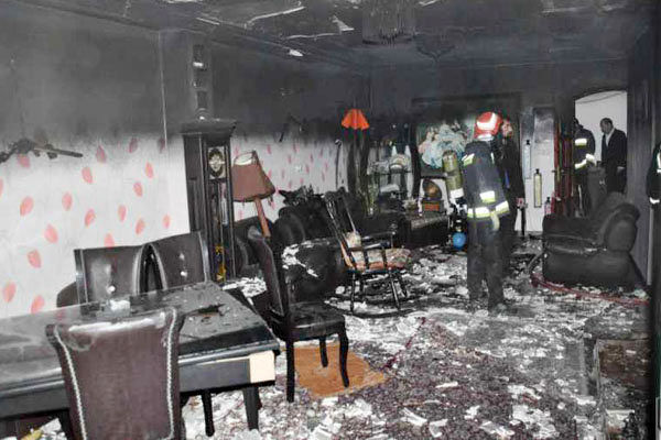 انفجار وحشتناک یک منزل مسکونی در شهرک ابوذر