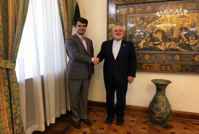دیدار رئیس فدراسیون گلف با وزیر امور خارجه