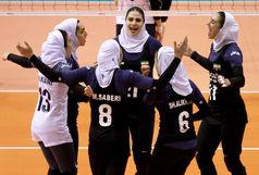 توقف دختران والیبالیست مقابل غول آسیای شرقی