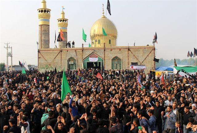 مسیرمنتهی به پیاده روی اربعین حسینی در شادگان مسدود می شود