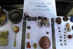 کشف 43 قطعه عتیقه در کرمانشاه