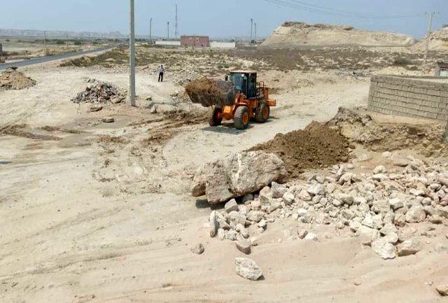 رفع تصرف 2 هکتار از اراضی ملی شهرستان پارسیان