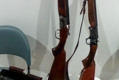 از متخلفین یک قبضه اسلحه قاچاق ته پر دولول  کشف و ضبط شد