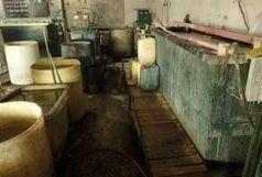 پلمب یک کارگاه غیرمجاز و آلاینده آبکاری با حکم قضایی در پاکدشت