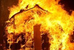 آتشسوزی یک داروخانه در بلوار نصر