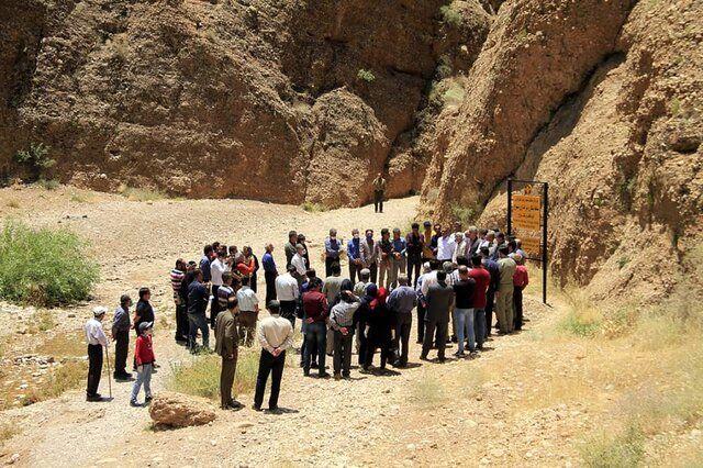 اعلام رسمی منطقه شکار ممنوع در کوه قلات و تنگ سرخ