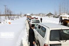 رهایی مادر باردار از محاصره برف