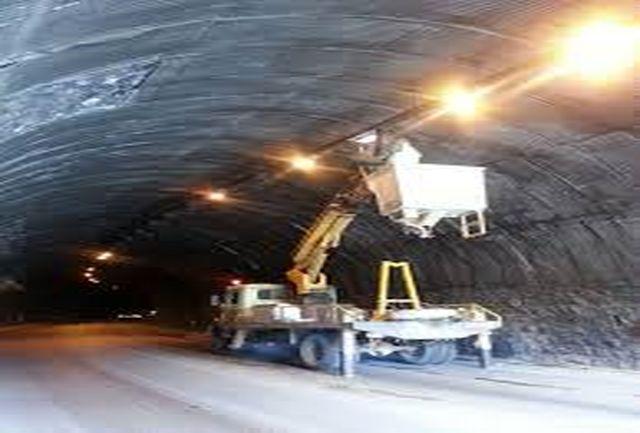 مسدود شدن تونل حیران در جاده آستارا – اردبیل