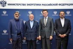 زنگنه و وزیر انرژی روسیه دیدار کردند