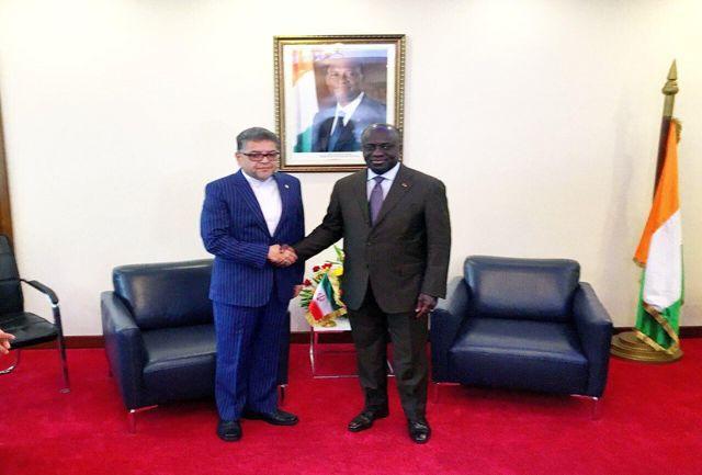سفیر ایران استوارنامهاش را تقدیم وزیر خارجه ساحلعاج کرد