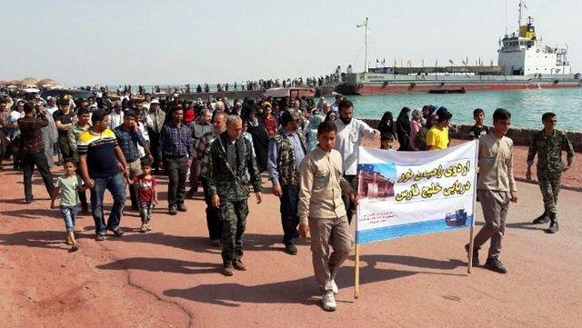 اعزام ۱۹۰ نفر از مددجویان هرمزگانی به اردوهای راهیان نور خلیجفارس