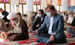 حضور استاندار گیلان در مراسم پرفیض قرائت دعای عرفه در رشت