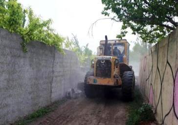 ۱۶۶ ساخت و ساز غیرمجاز در فیروزکوه تخریب شد