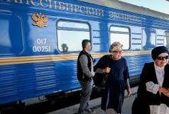 قطارعقاب طلایی به اصفهان رسید