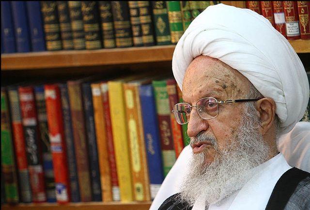 نهاوندیان با آیت الله مکارم شیرازی دیدار کرد