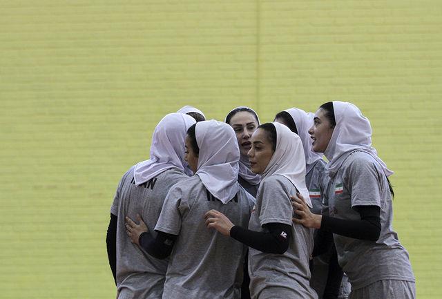 رتبه هفتم آسیا سهم والیبال بانوان ایران